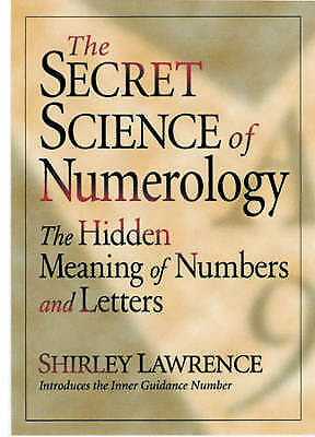 1 of 1 - Secret Science of Numerology: The Hidden Meaning of Numbers and Letters, Very Go