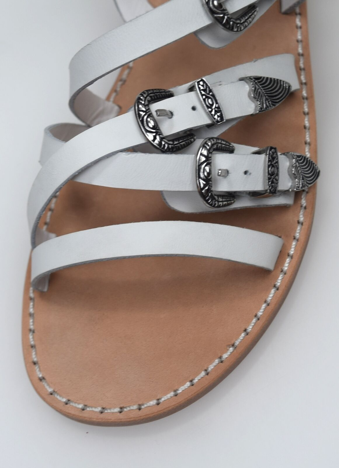 ASH WOMAN FLAT SANDALS chaussures chaussures chaussures CASUAL LEATHER CODE PENELOPE SS15 M 107986 001 fece87