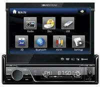 Soundstream Vir-7830b Single-din Bluetooth Car Stereo Dvd Player With 7-inch