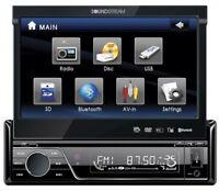 Soundstream Vir-7830b Single-din Bluetooth Car Stereo Dvd Player With 7-inch