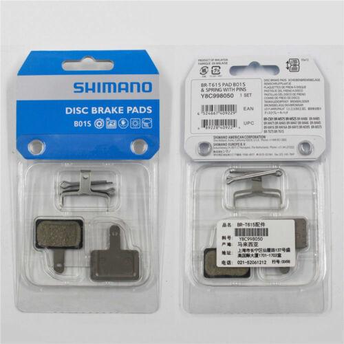 2 Pairs-Shimano B01S Resin Disc Brake Pads for M315 M355 M395 M465 Acera Alivio