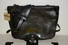 Ralph Lauren RRL Distressed Full Leather Shoulder Messenger Mailbag Bag