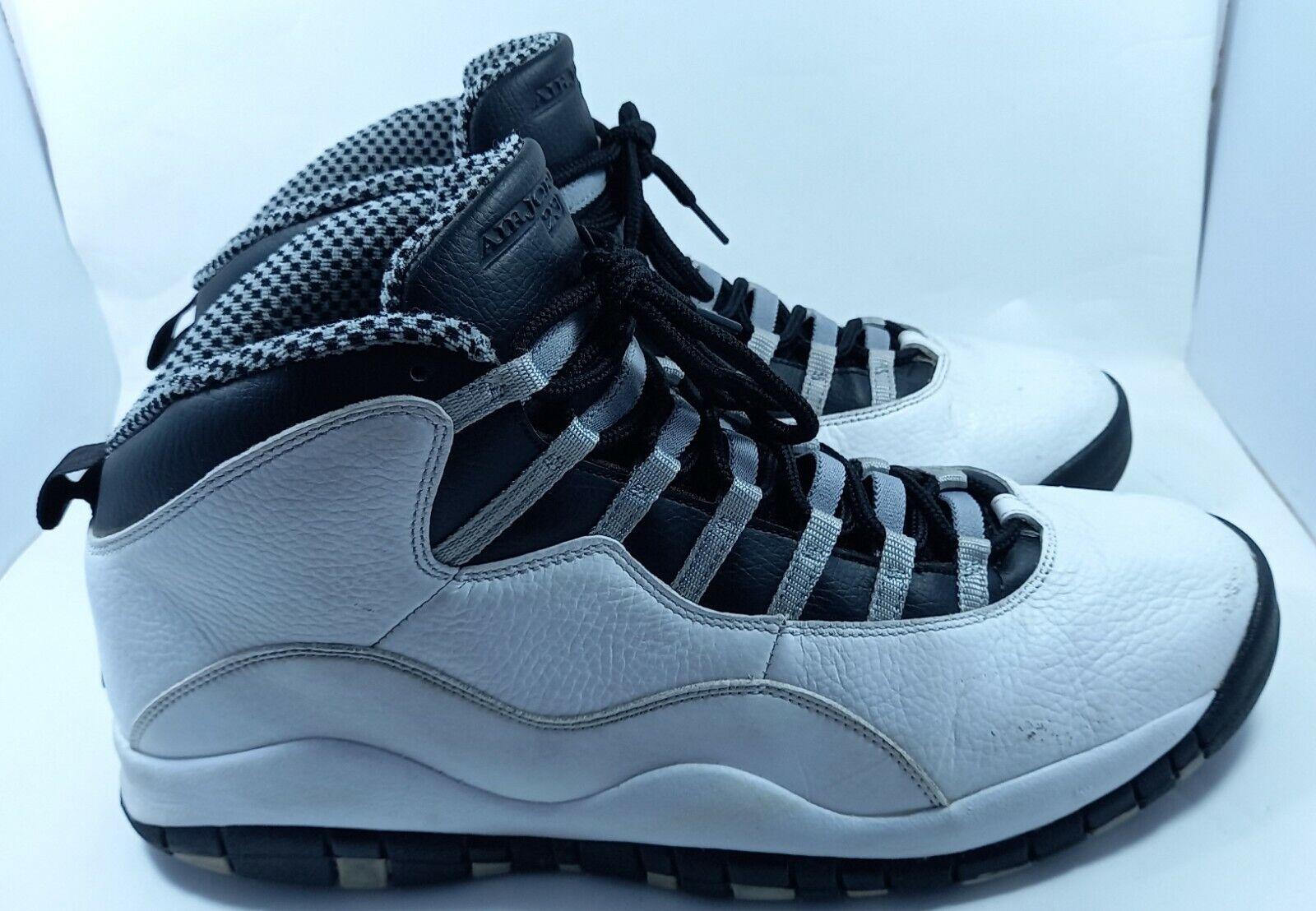 Nike Air Jordan X 10 Retro Steel Black