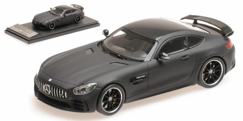 Mercedes AMG GT R 2017 Leather Matt nero 1 43 Model almost real
