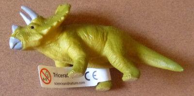 Dinosaur Triceratops Small Replica 80mm Long.
