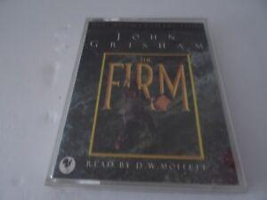 The-Firm-by-John-Grisham-Audio-cassette-1997-Read-DW-Moffett-Legal-Crime