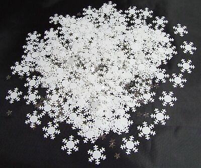 Accurato 4 X 14g Fiocco Di Neve Natale Coriandoli Tavolo Winter Wonderland Party Decorazioni- Una Vasta Selezione Di Colori E Disegni