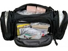 Tactical First Aid Rapid Response Bag Stocked Elite Medic MOLLE Trauma Kit Blk.