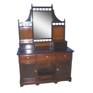 Antique-Mahogany-Vanity-Dressing-Table-Great-for-Sink