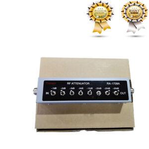 0 82db Ra 1728 Avariable Step Attenuator 50 Ohm For Ham Radio Transmitter Etc Ebay