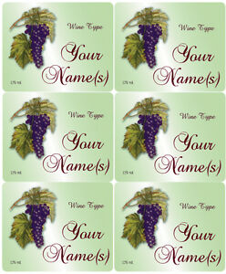 6-Blank-or-Custom-4-x-3-034-Rectangular-LABELS-Wine-or-other-products-Wedding-Party