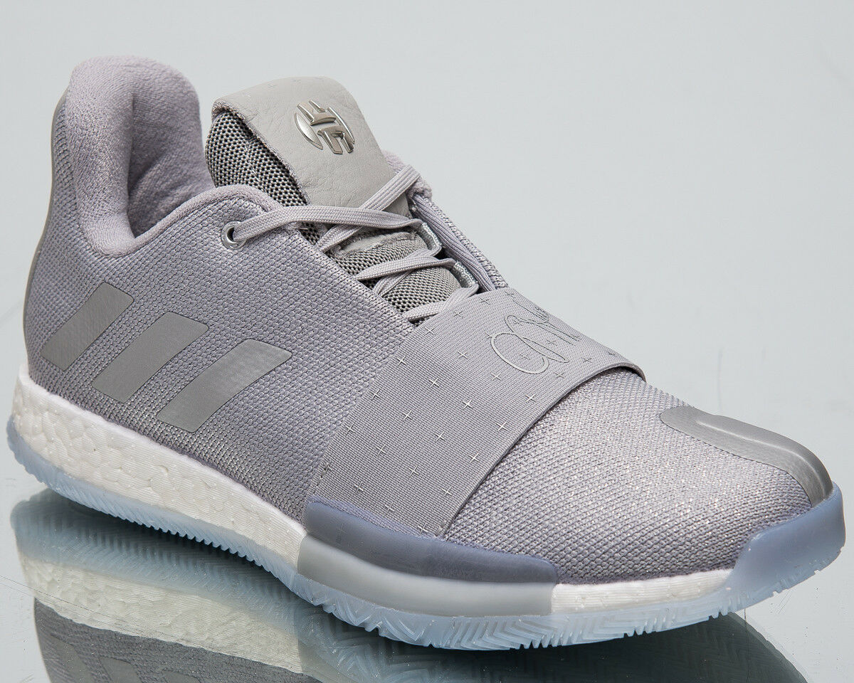 Adidas Harden Vol.3 Voyager Men's New Grey Silver Basketball shoes F36443
