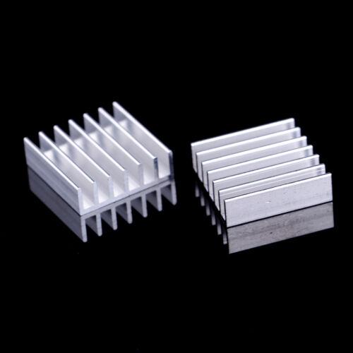 10 stücke Aluminium 20x20x6mm IC D Kühlung Kühler Kühlkörper Mit KlebebaDJtg