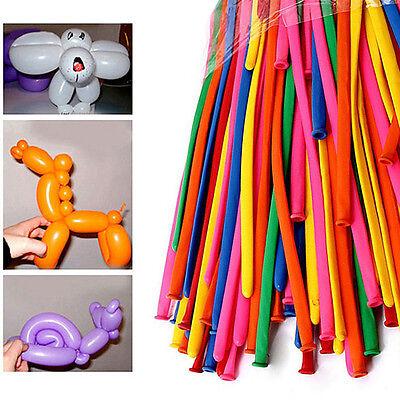 200pcs Party Long Animal Tying Making Balloons Twist Latex Balloon DIY Decor
