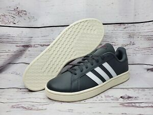 Details about Adidas GRAND COURT BASE Mens Shoes Flat Casual Trainers Grey EE7907 Size US 9