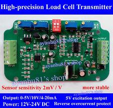 0-10V / 4-20mA Load Cell sensor Amplifier Transmitter voltage current converter