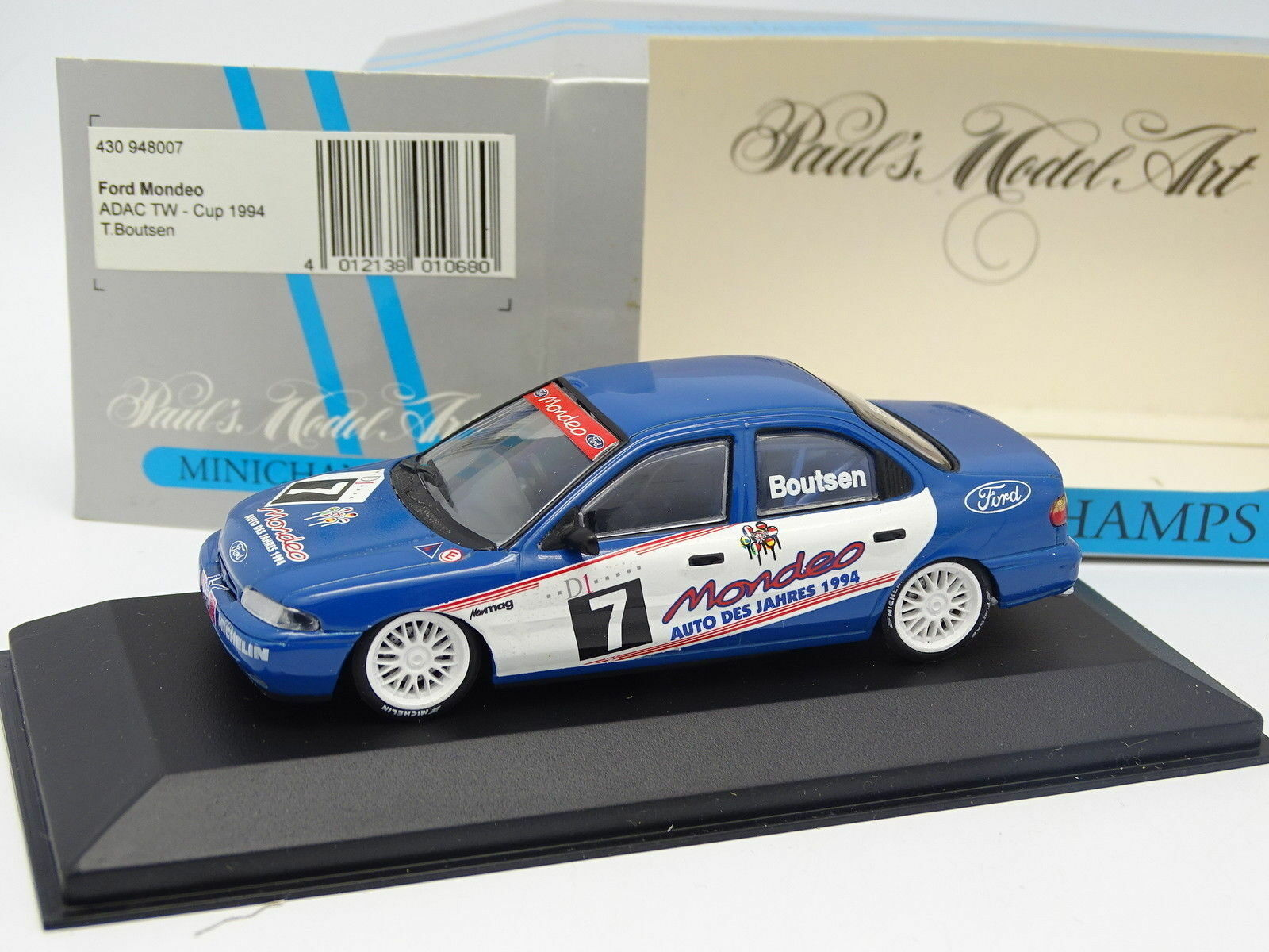 Minichamps 1/43 - Ford Mondeo ADAC TW Coppa 1994 Boutsen
