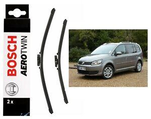 Bosch-Front-Windscreen-Wiper-Blades-Aerotwin-650mm-450mm-VW-Touran-2003-2015