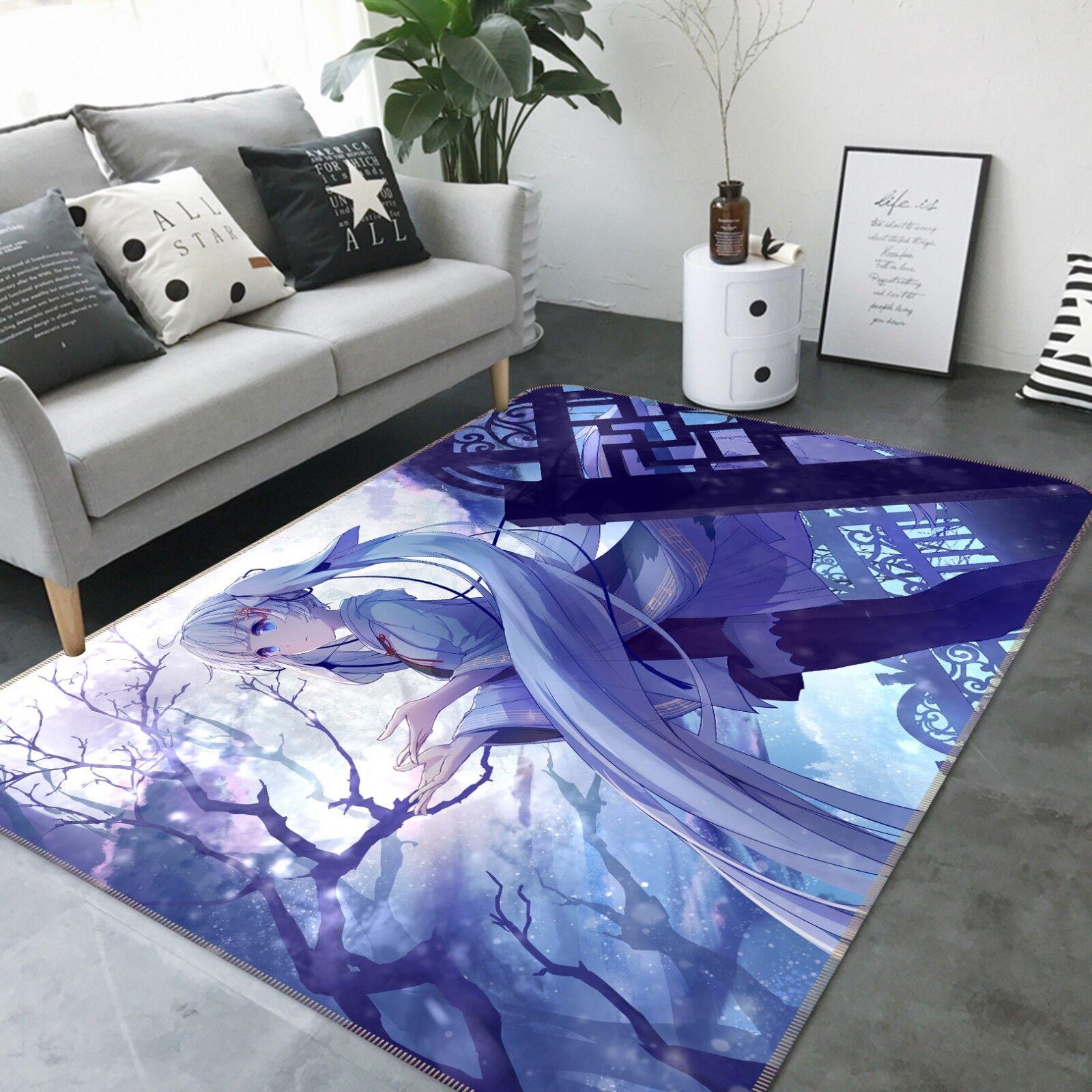 3d Hatsune Miku 12 japón anime juego antideslizante maletero elegante foto alfombra de