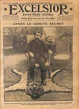 Gouvernement Aristide Briand Président Conseil Georges Clemenceau Paris WWI 1916