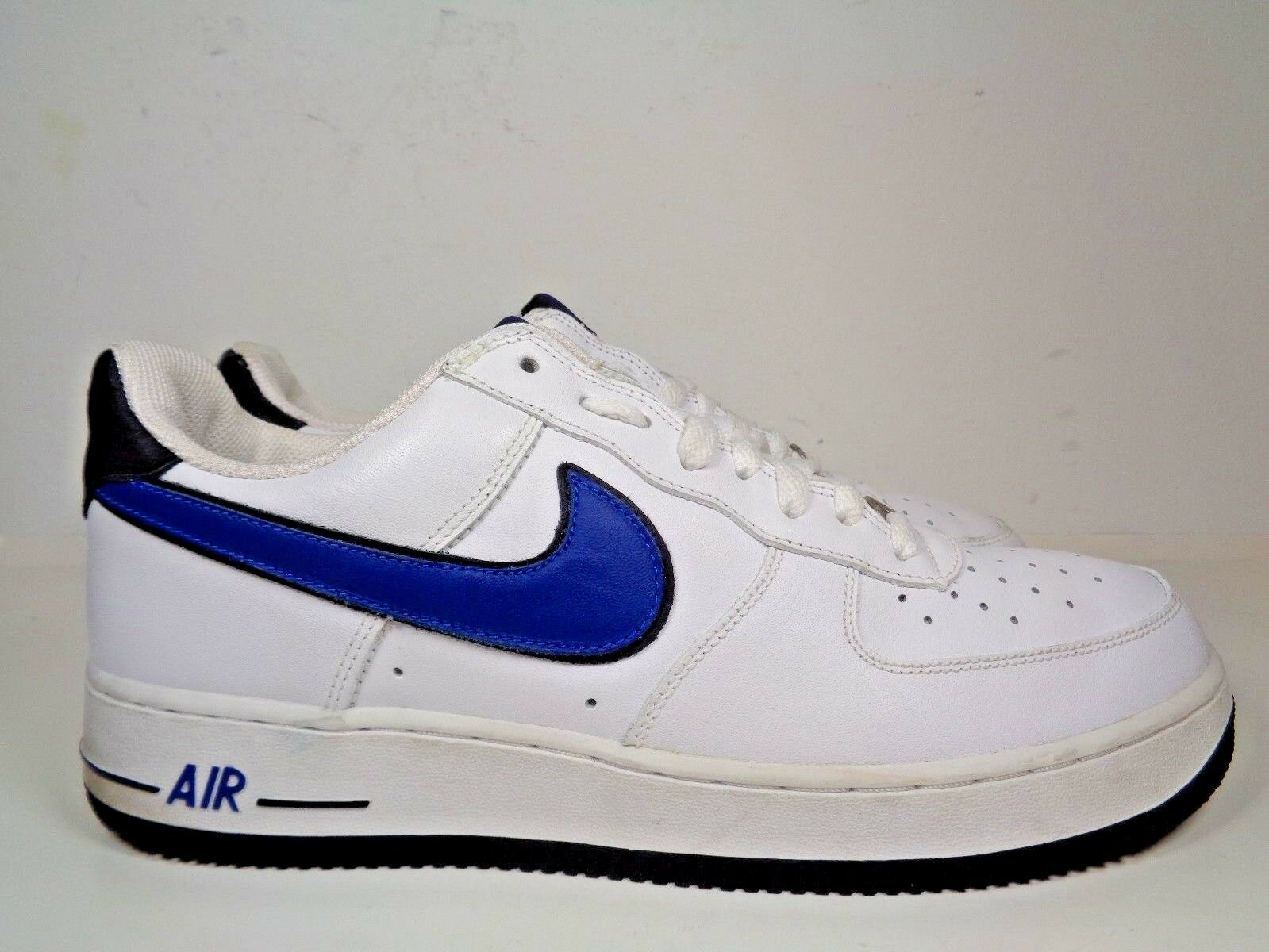 Mens Nike Air Force 1 Sport Royal Basketball shoes size 11 US 306353-143