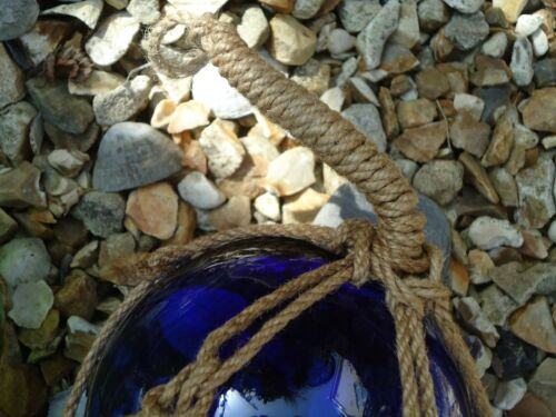 Buoys Balls Bathroom Fish 135 mm across Blue Glass Fishing Boat Net Float