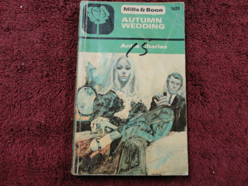 AUTUMN WEDDING BY ANITA CHARLES #MILLS & BOONVINTAGE#1975