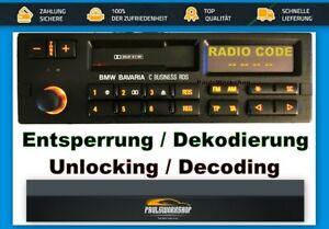Code-Service-Entsperrung-BMW-BAVARIA-C-BUSINESS-RDS-8357038-PI92XX-KE-92ZBM