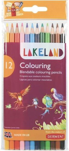 Derwent Lakeland Colorante Lápices Set Unit 12 Surtidos