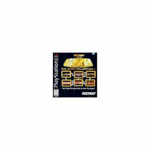 Arcade's Greatest Hits: The Atari Collection 1 For PlayStation 1 PS1 7E