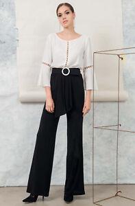 super qualità vendita professionale prodotto caldo Edas tuta intera donna elegante cerimonia Paxom abito jumpsuit ...