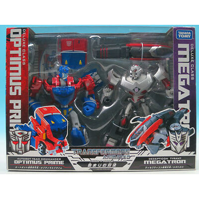 [FROM JAPAN]Transformers Animated Confrontation of beginning Optimus Prime V...