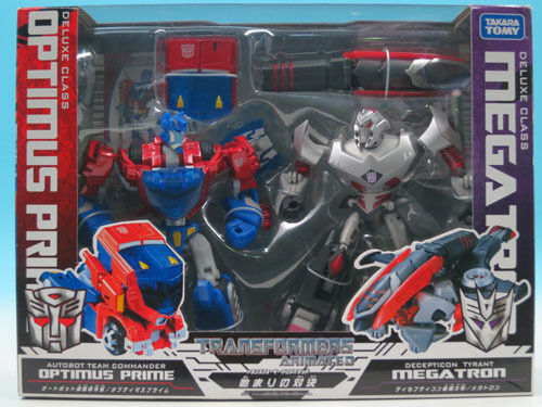 Transformers Animated Confrontation of beginning Optimus Prime V... FROM JAPAN
