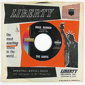 GANTS-Road-Runner-My-Baby-Don-039-t-Care-7IN-NORTHERN-SOUL-VG-VG