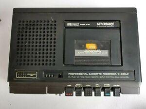 De-Coleccion-Marantz-superscope-C-206LP-Grabadora-De-Cassette-profesional-para-piezas-reparacion
