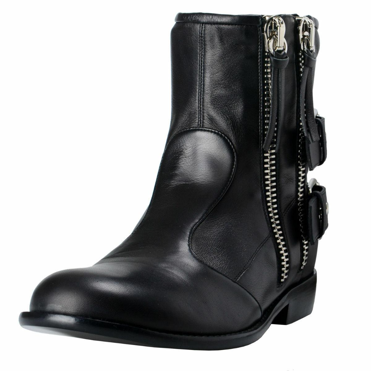 Giuseppe Zanotti Design Zapatos botas de cuero para hombre