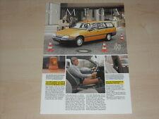 63639) Opel Omega A Behördenfahrzeug Prospekt 07/1987