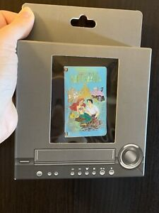 ARIEL-The-Little-Mermaid-VHS-Tape-LE-1500-Movie-Disney-Pin-Hinged-See-PICS