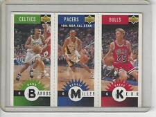 Dana Barros Reggie Miller Steve Kerr 1996-97 Collector's Choice mini