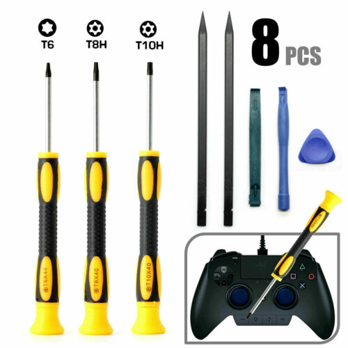 Sony Playstation PS4 Torx Security Screwdriver Open Fix Mod Upgrade clean up Set