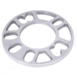 Universal Alloy Aluminum Wheel Spacers Shims Plate STUD 3mm 5mm 6mm 8mm 10mmFD