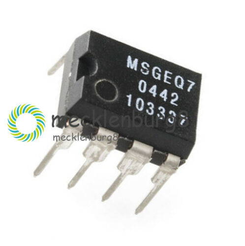 MSGEQ7 Band Graphic Equalizer IC MIXED DIP-8 MSGEQ7 Best