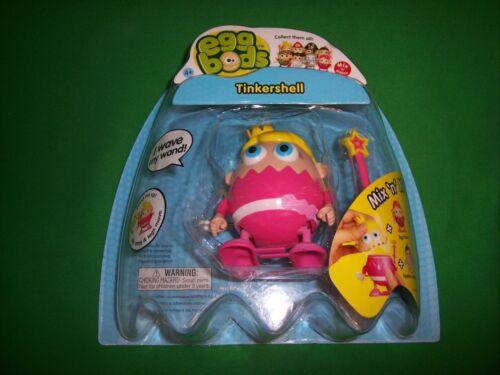 "Eggbods Wind Up Toy tinkershell 3/"" robot figure-Bluw"