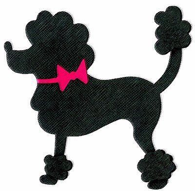 Sizzix Poodle large die #659509 MSRP $15.99 Cuts fabric, by Jen Long, SWEET!