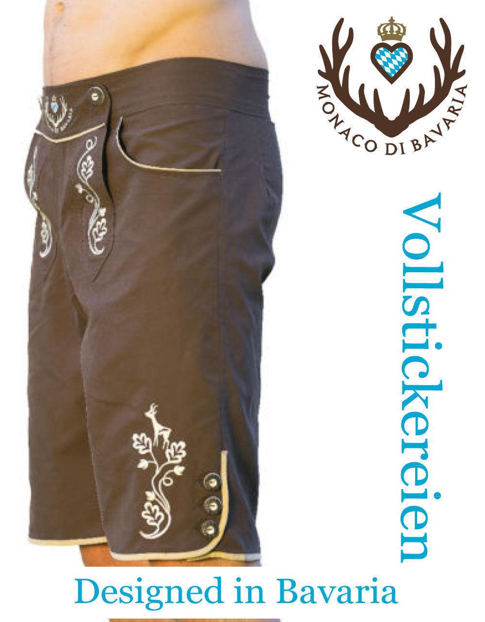 Original, Tracht, pantalones de cuero, pantalones cortos,  bermudas shorts, traje de baño, badelederhose,  disfruta ahorrando 30-50% de descuento