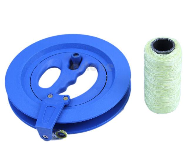 7Inch Grip Wheel Kite Reel 200M String Line/Winder/Ballbearing/Handle Lockable