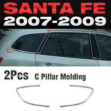 Chrome C Pillar Molding Cover Garnish A317 Kit For HYUNDAI 2007-2009 Santa Fe CM