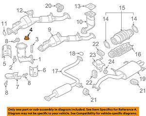image is loading infiniti-nissan-oem-02-04-i35-exhaust-sysytem-