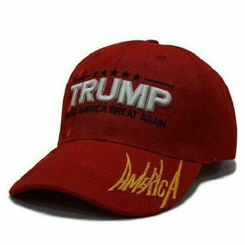 Great fit 100/% Cotton LOT of 12 Make America Great Again Red Cap Hat Adjustable