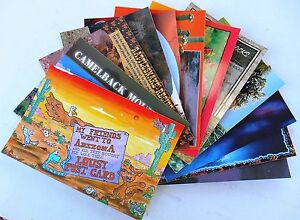 1-dozen-assorted-Arizona-Post-Cards-pictures-show-included-cards-assortment-1